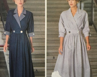 Tres Chic Butterick 6191 Misses' Dress (Size6, 8, 10) summer dress…very french!!