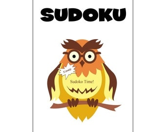 Kids Sudoku Time Fun Animals Three Levels 80 Puzzles PDF Instant Download