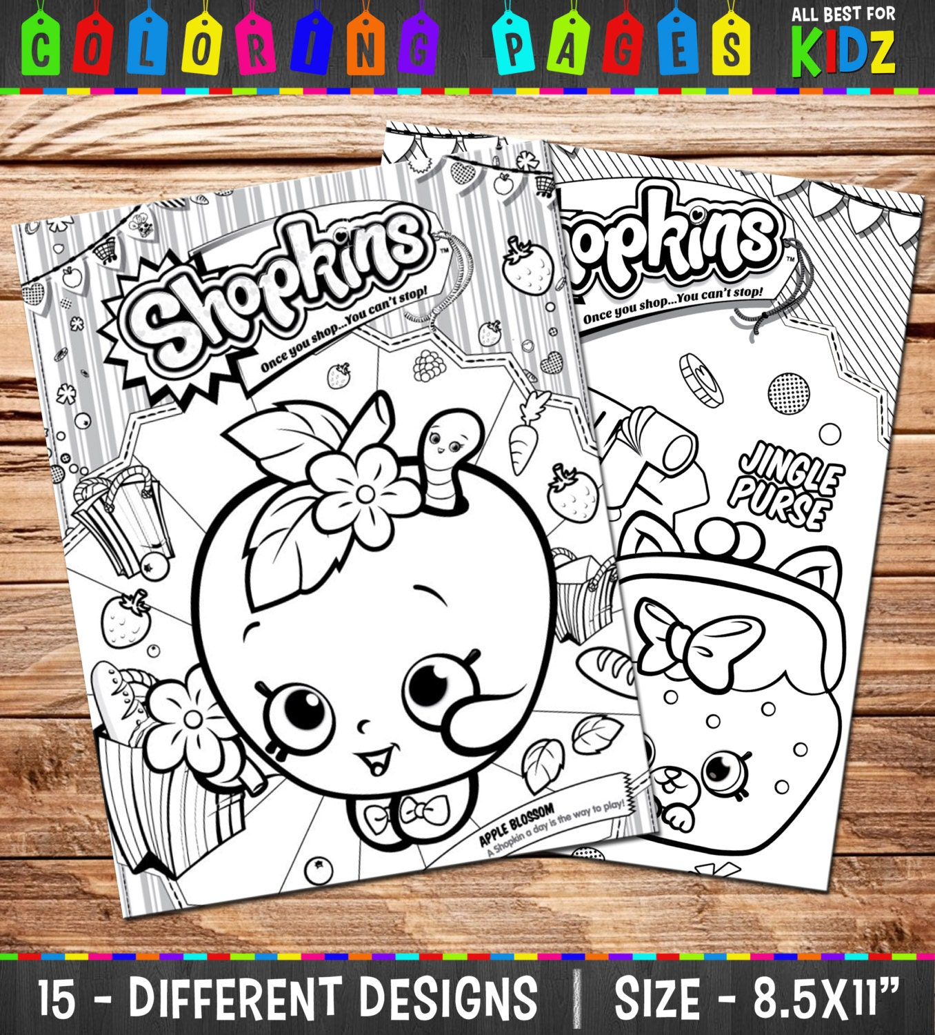 shopkins coloring pages free games - photo#2