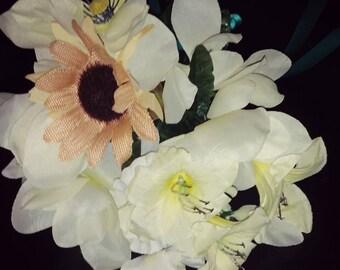 Brides Wedding Throw away Bouquet