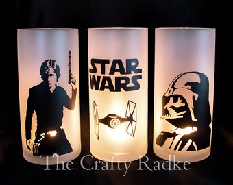 Star Wars Candle Holders