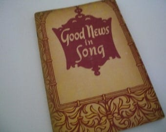Songbook, Good News In Song, 1951