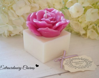 Romantic Flower Candle(Rose)  *  Grace