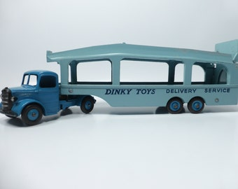 Vintage 1955-63 Meccano Dinky Diecast No.982 Pullmore Car Transporter - Excellent Condition