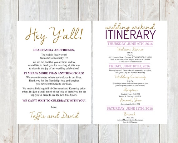 100 destination wedding welcome letter template wedding welcome letter wedding welcome letter wedding itinerary pronofoot35fo Gallery