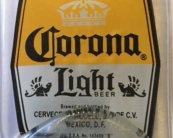Melted Corona Light Bottle