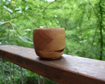 Layered Cherry Wooden Bowl