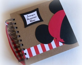 Pirate PERSONALIZED -  Disney Autograph Book - Scrapbook - Travel Journal - Vacation - Photo Book -