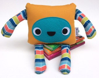 Cute Monster Softie, Cuddly Monster Toy