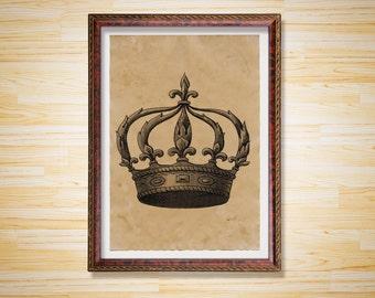 Vintage Crown Etsy