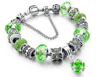 Bracelet Pandora Style Sterling Silver
