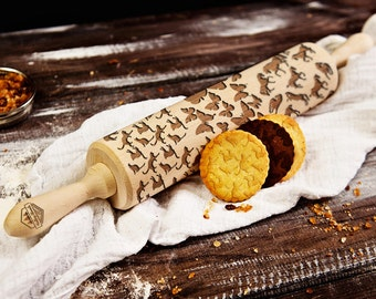 Animals 3 in 1 - Big rolling pin