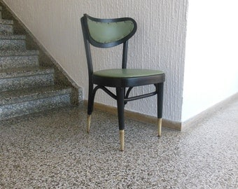 Very fine bentwood chair from 1950s
