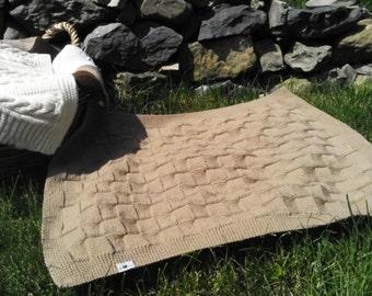 Colourful baby blankets /merino wool blankets