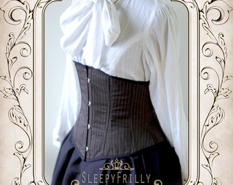 Charlotte Academy - simple corset cincher that goes with anything