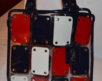 Dolce & Gabbana handbag/vintage handbag/coloured handbag/an.610
