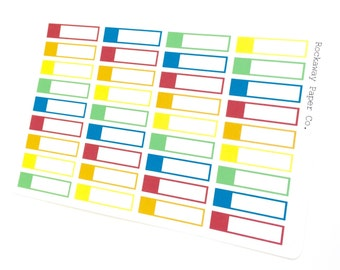 Blank Event Labels Bright
