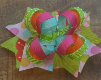 Small Loopy Boutique Hair Bow