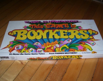 Bonkers Game from Parker Brothers 1978 Vintage