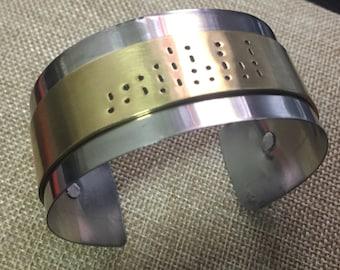 Personalized Handmade Metal Bracelet