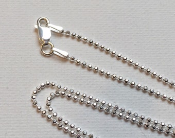 Add On - Sterling Silver 18 inch Necklace (LL199)