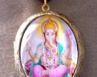 Medallion door photo Indian ganesh