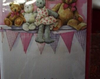 A Baby Girl New Born Card