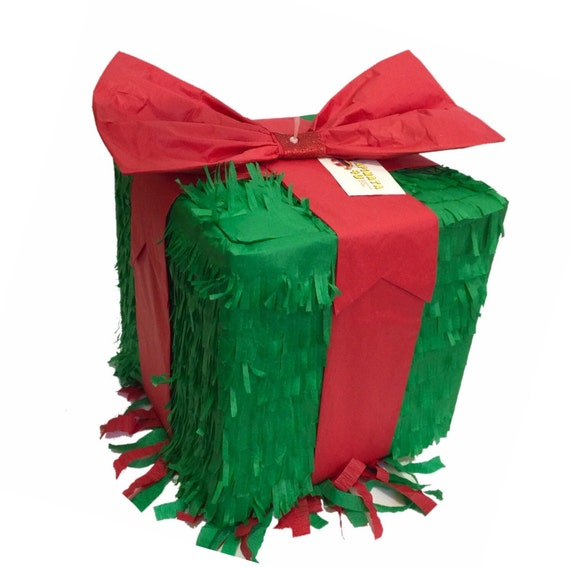 Ready to Ship Out Christmas Gift Box Pinata