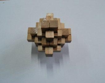 Puzzle  Wooden puzzle Puzzle game Wooden game Woodworking Games for brain Puzzle 6 pieces