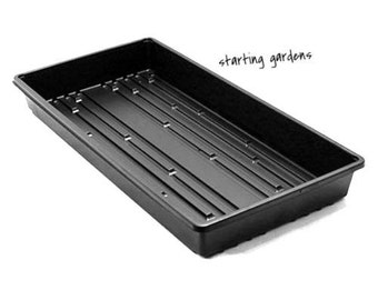 Seed Starting Tray, (Qty. 5), No Drain Holes, For Wheat Grass, Microgreens, Seed
