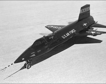 24x36 Poster . North American X-15 Aircraft, Ship #1 1960