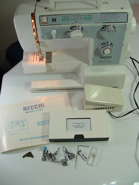 necchi royal series sewing machine reviews