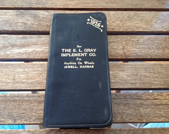 1926 Combination Diary, Memorandum, and Compendium of Useful Information