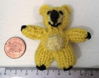 Mini Yellow bear