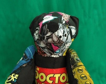 Doctor Who Patchwork Bear
