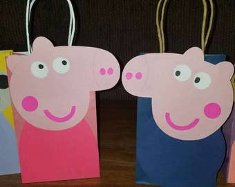 20 Inspired Peppa Pig and Friends Party Bags