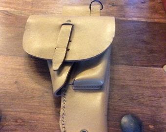 French Foreign Legion Tan Leather Holster