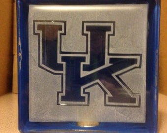 university of kentucky glass block