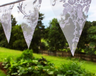 Lace Bunting | Garland | Flags | Decoration