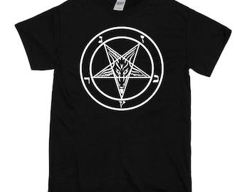 Sigil of Baphomet - Pentagram Satanic T Shirt