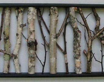 Birch Branch Picture 3-Dimensional