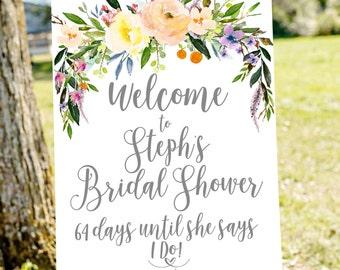 Bridal shower banner Etsy