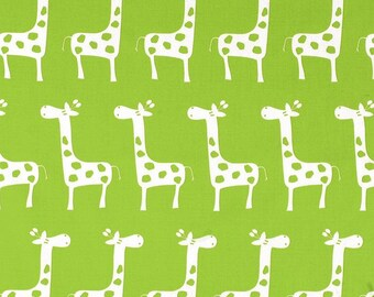 Giraffe Baby Bedding - Chartreuse - Baby Boy Bedding - Nursery - Toddler Bedding - Minky Blanket - Crib Skirt - Bumper Pads - Rail Guard