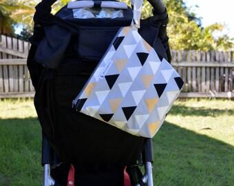 Large Wet bag, swim bag, nappy bag, waterproof bag