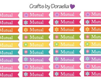 LDS Mutual Stickers, Mormon Mutual Stickers, Mormon Planner Stickers, LDS Planner Stickers, LDS Youth Stickers,