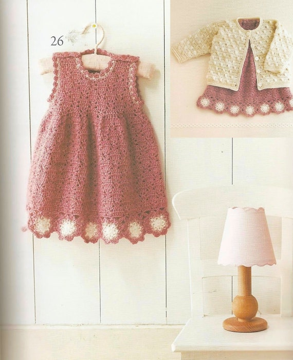Japanese Crochet Baby Dress Pattern : Baby Crochet Book, Japanese Crochet Book PDF, Baby Boy ...