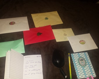 Mystery Letters and items for an adventure like no other.