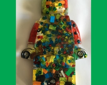 3.75 inch tall Personalized Lego Figure