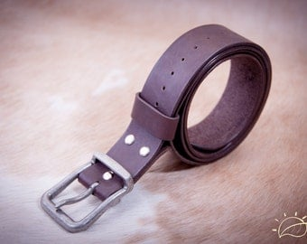 Leather belt FREE Personalising