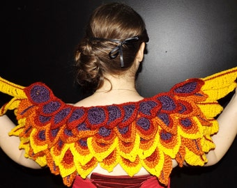 Crochet Phoenix Shawl